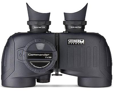 Морской бинокль Steiner Commander 7х50 Compass (с компасом) (23050)